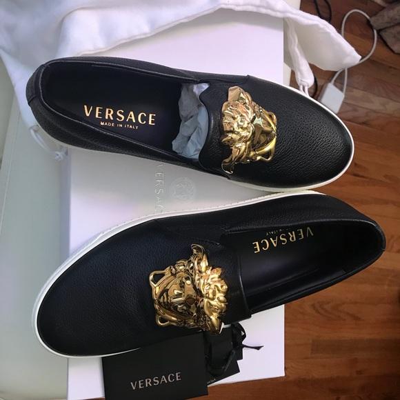 Brand New Men Versace Palazzo Slip